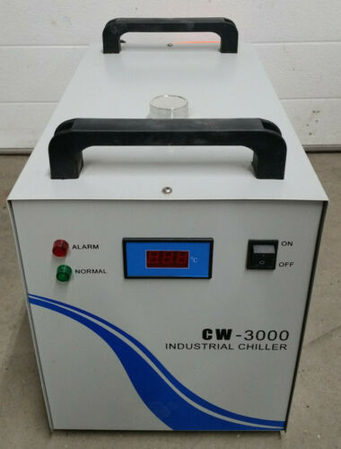 CW-3000 Thermolysis Water Cooled Industrial Chiller For CNC Laser - Light Use
