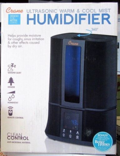 Crane Classic 2-in-1 Warm Mist Humidifier (EE-6905)