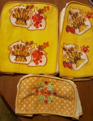 Vintage 1950s 60s Toaster, blender, mixer Cover appliance lot