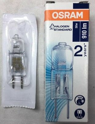 - 64440 Original Osram /  Sylvania Halostar 50W 12V GY6.35 Base Halogen Light Bulb