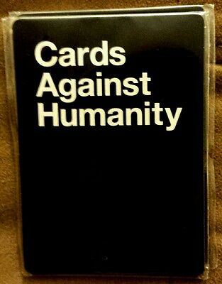 Cards Against Humanity RETAIL PACK - PROMO ONLY - FREE SHIPPING 2 Black 3 White