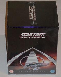 Star Trek: The Next Generation (TNG) Complete Seasons 1,2,3,4,5,6,7 DVD SEALED