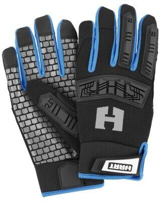 Hart Performance Impact Work Gloves 5 Finger Touchscreen Large