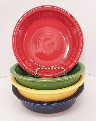 Fiestaware Mixed Colors Medium Bowl Lot of 4 Fiesta Cereal Bowl 4C11M10