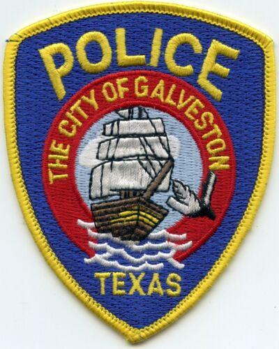 GALVESTON TEXAS TX small POLICE PATCH