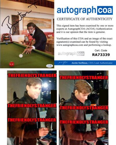 BRENTON THWAITES signed Autographed 8X10 PHOTO e PROOF -Hot SEXY Titans ACOA COA