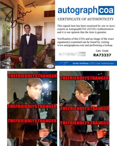 BRENTON THWAITES signed Autographed 8X10 PHOTO c PROOF -Hot SEXY Titans ACOA COA