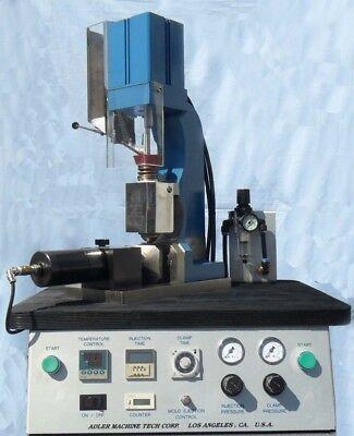 Adler Ajp-3500 Plastic Injection Molding Machine Prototype Jewelrymetal Mold