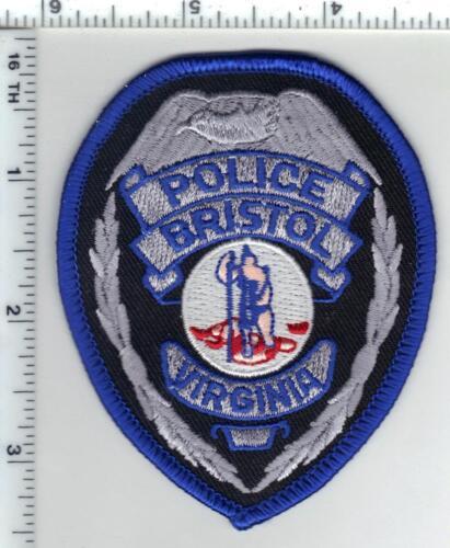 Bristol Police  (Virginia) 1st Issue Cap/Hat Patch