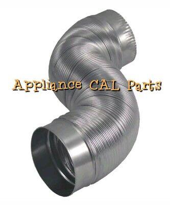 Deflecto AM42 Semi-Rigid Flexible Aluminum Duct dryer vent hose - 4