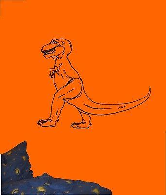 T-rex Größe (Wandtattoo - Dinosaurier - T-Rex - Kinder - verschiedene Größen und Farben)