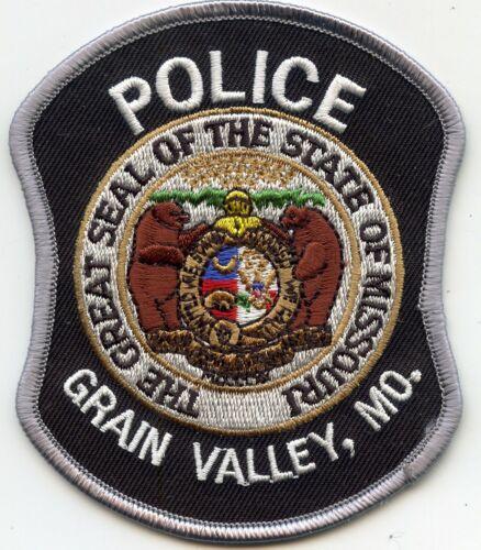 GRAIN VALLEY MISSOURI MO POLICE PATCH