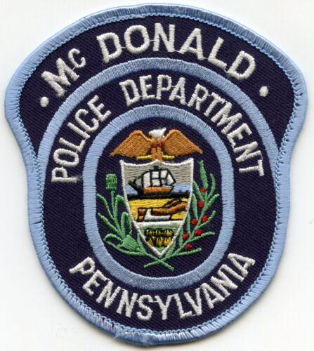 DONALD PENNSYLVANIA PA POLICE PATCH