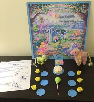 VTG My Little Pony PARTY GIFT PACK Mail Order So Soft Best Wishes Baby Frosting