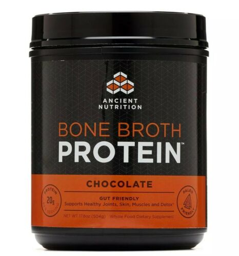 Ancient Nutrition Bone Broth Protein Chocolate PALEO KETO HA