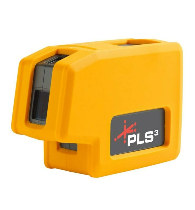 PLS3 3-point Red Beam Laser Level PLS-60523N by Pacific Laser Systems NEW w/Box