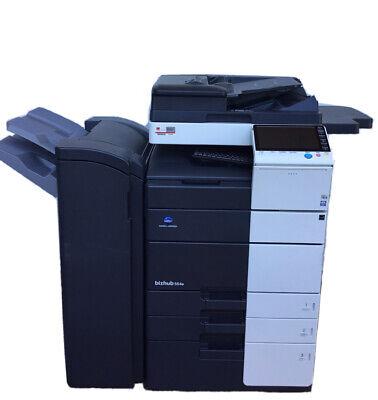 Konica Minolta Bizhub 554e Copier Printer Scanner Government Surplus.