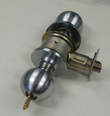 Schlage A53pd Orbit Entry Knob 626 Grade 2 Sc1 Cylinder 1 Key 2 34 Backset