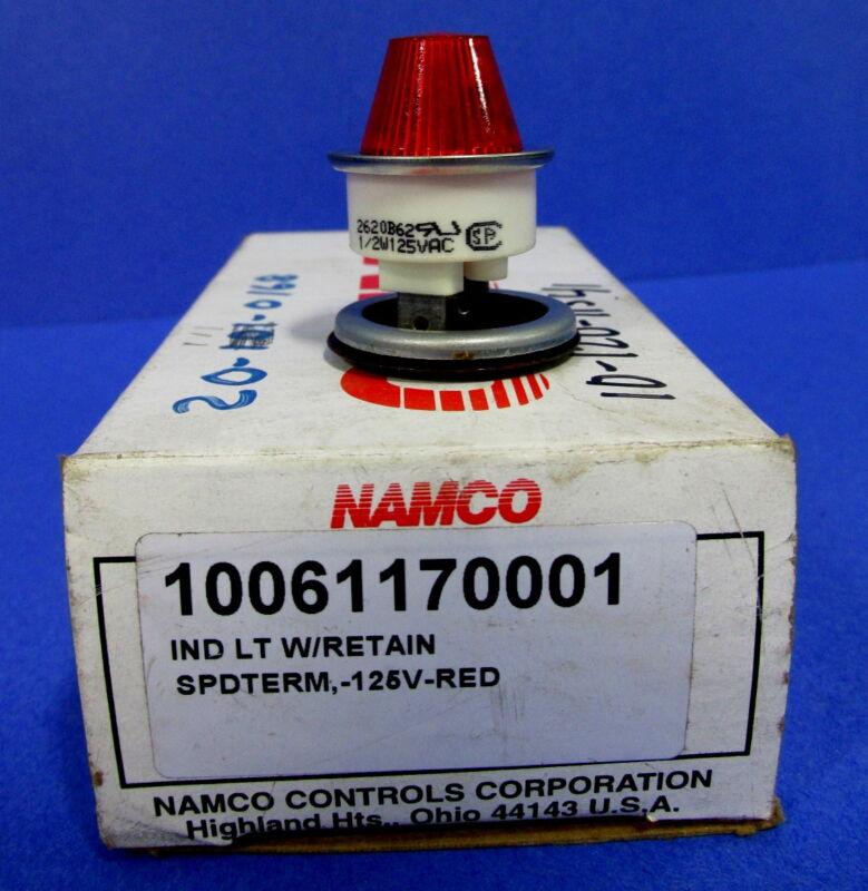 NAMCO RED INDICATOR LIGHT 10061170001 *NEW* *PZF*