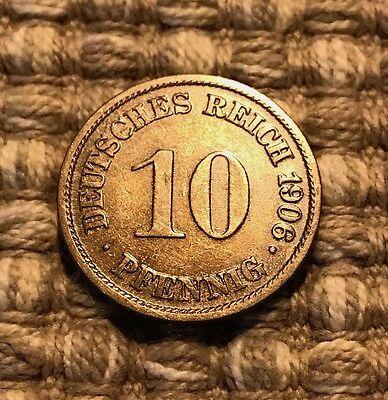 10 Pfennig von 1906 A / Deutsches Reich