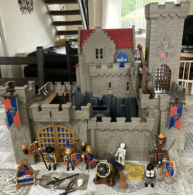 Playmobil 6000 Royal Lion Knights Castle With Instructions RARE