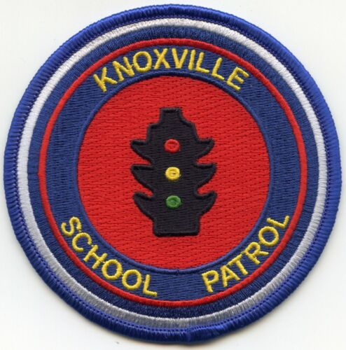 KNOXVILLE TENNESSEE TN SCHOOL PATROL Traffic Light POLICE PATCH