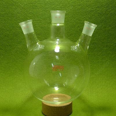 3 Neck Round Bottom Flaskboiling Flask2000ml2429glass Flasklab Glassware