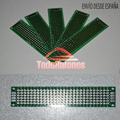 placa circuito impreso para soldar PCB 20x80 mm arduino circuito eléctrico MEGA