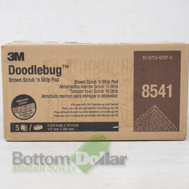 3M 8541 70-0715-6787-2 Doodlebug 5-Pack Scrub