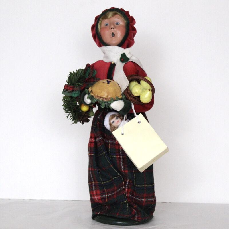 Byers Choice Christmas Handmade Figure Woman Bearing Gifts The Carolers 2013