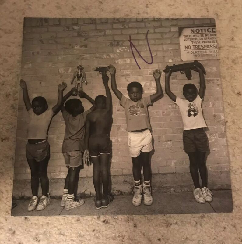 Nas Nasir Vinyl Signed With Proof RARE ONLY ONE ON EBAY?