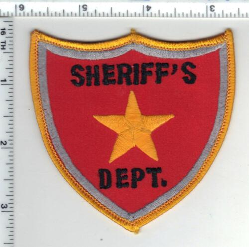 Very RARE Statewide Sheriff
