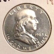 1963 Franklin Half Dollar Proof