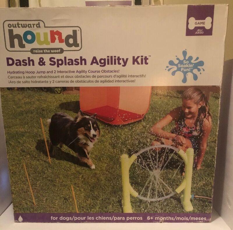 Outward Hound Dash And Splash Agility Kit.New in Box