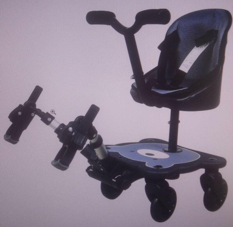 Englacha 2-in-1 Cozy Rider 4 Wheel Child Universal Stroller Seat Board