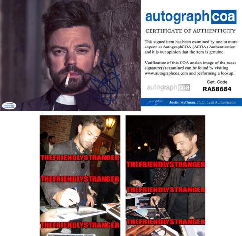 "DOMINIC COOPER signed Autographed ""PREACHER"" 8X10 PHOTO a PROOF - Jesse ACOA COA"