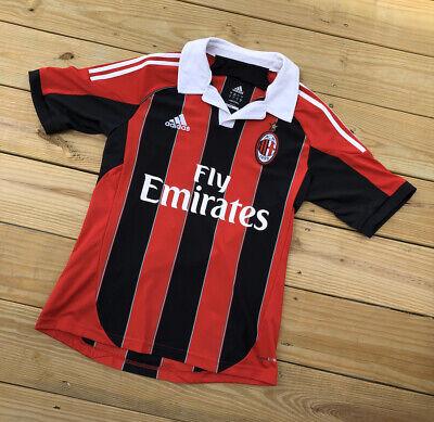 2012 Adidas AC Milan Kevin Prince-Boateng Soccer Futbol Jersey Kit Mens Small