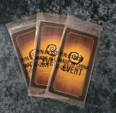 Set of 3 - BETRAYAL AT HOUSE ON THE HILL Promo cards - sealed!!!