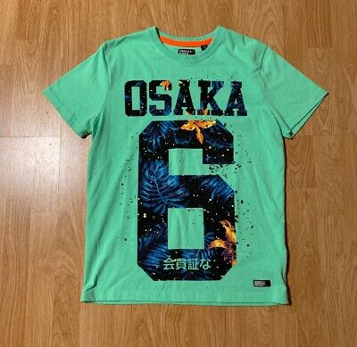 Osaka 6 + Super Dry Project T-Shirt Size Men's Large