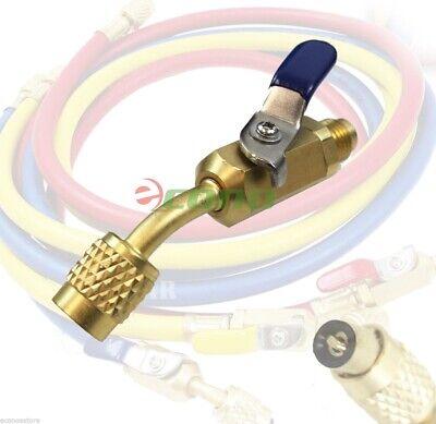 Brass Shut Valve For Ac Charging Hoses Hvac 14 Ac Refrigerant R410a R134a