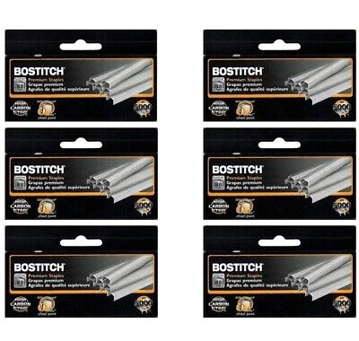Value Pack Of 6 Boxes Bostitch B8 Powercrown Premium 14 Staples Stcrp211514