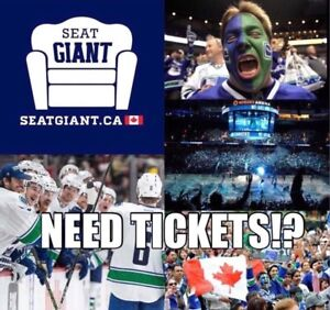 VANCOUVER CANUCKS TICKETS FROM $35 CAD!!!