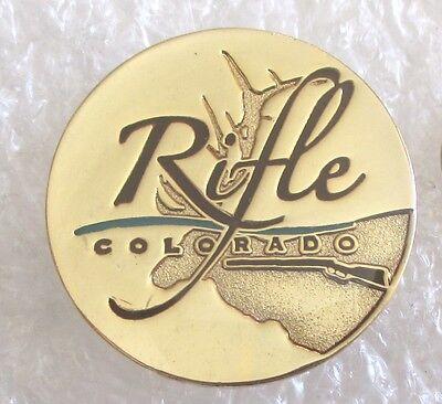 City of Rifle, Colorado Tourist Travel Souvenir Collector Pin