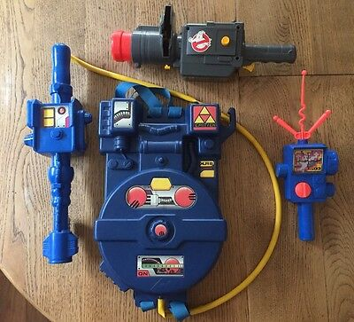 Vintage 1984 Kenner Columbia Pictures Ghostbusters Proton Pack Plus Accs
