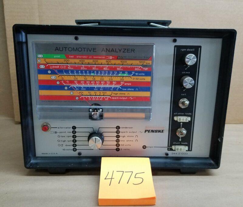 Sears PENSKE Automotive Analyzer 244.21033 with Accessories