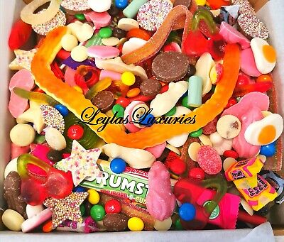 Pick n Mix SWEET Mix Mixed Candy Gift Box Birthday Party 500G 1KG 2KG