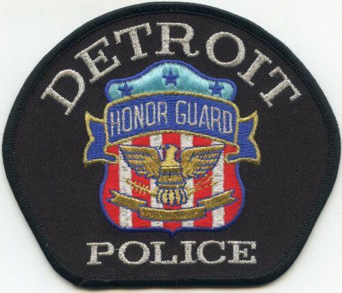 DETROIT MICHIGAN MI Honor Guard POLICE PATCH