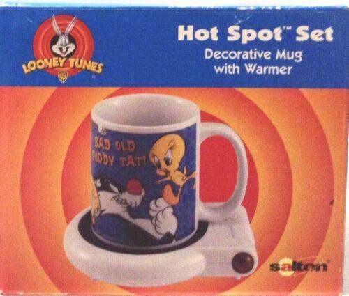 Looney Tunes Salton Hot Spot Set Decorative Mug With Warmer