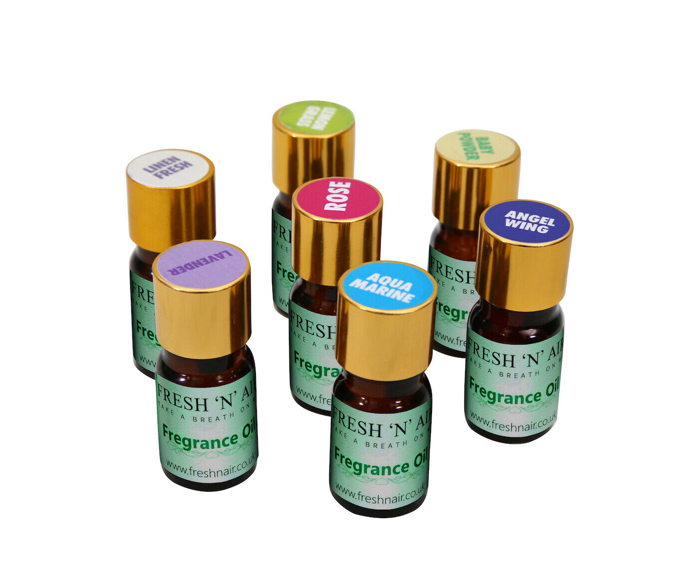 3 x Fragrance essence oil for Humidifiers & Diffusers100% Pu