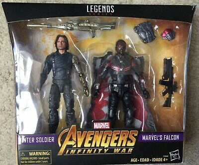 "Marvel Legends Avengers Infinity War - Winter Soldier & Falcon 6"" Action Figures"